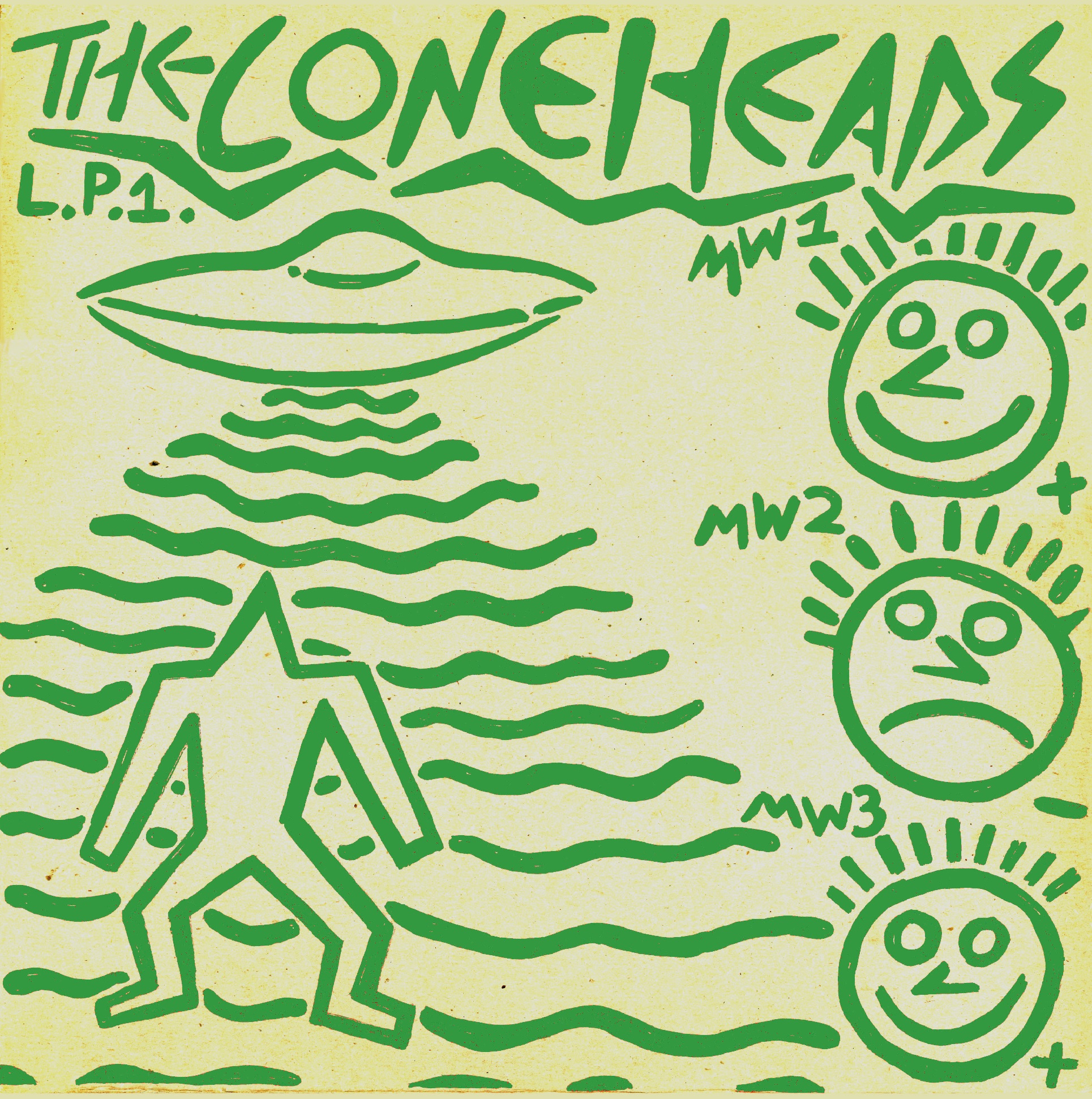 The Coneheads - L​.​P​.​1.