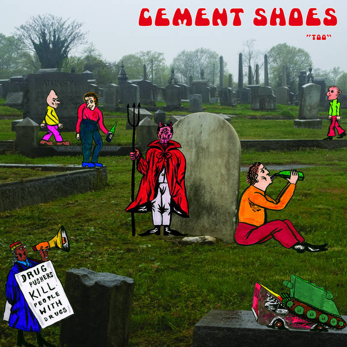 "CEMENT SHOES - ""Too"" LP"
